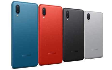 Samsung Galaxy M02 Colors
