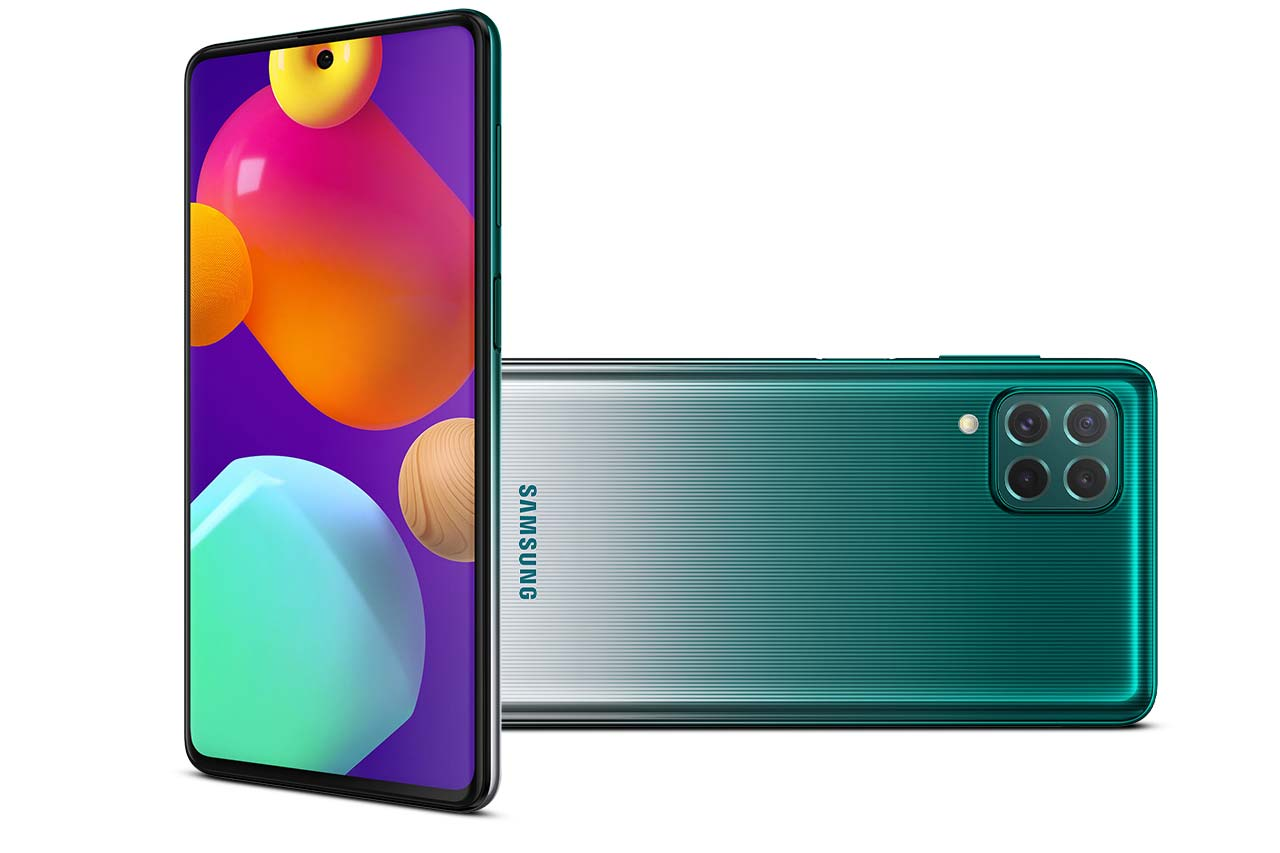 Samsung Galaxy M62 Green