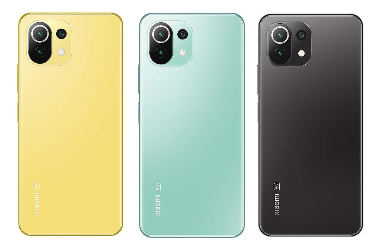 Mi 11 Lite 5G Colors