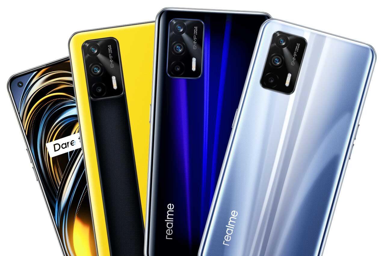 Realme GT 5G Colors
