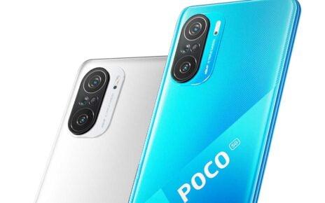 Poco F3 Blue