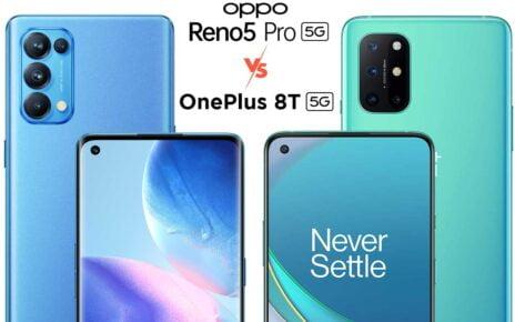 Oppo Reno 5 Pro vs OnePlus 8T