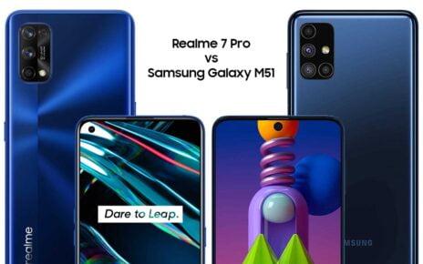Realme 7 Pro vs Samsung M51
