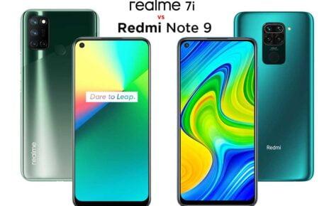 Realme 7i vs Redmi Note 9