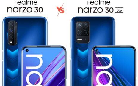 Realme Narzo 30 vs 30 5G