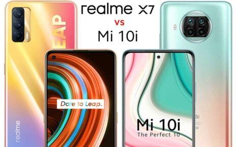 Realme X7 vs Mi 10i