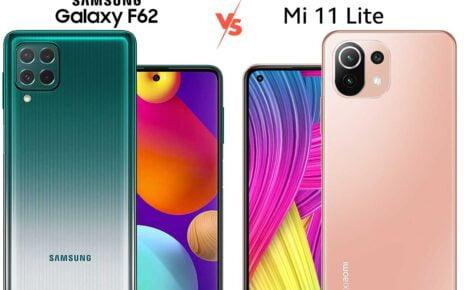 Samsung F62 vs Mi 11 Lite