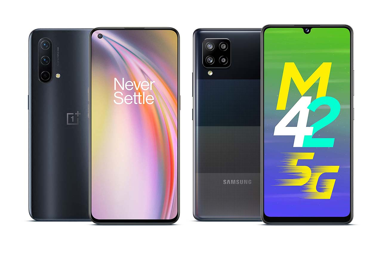 Samsung M42 vs OnePlus Nord CE