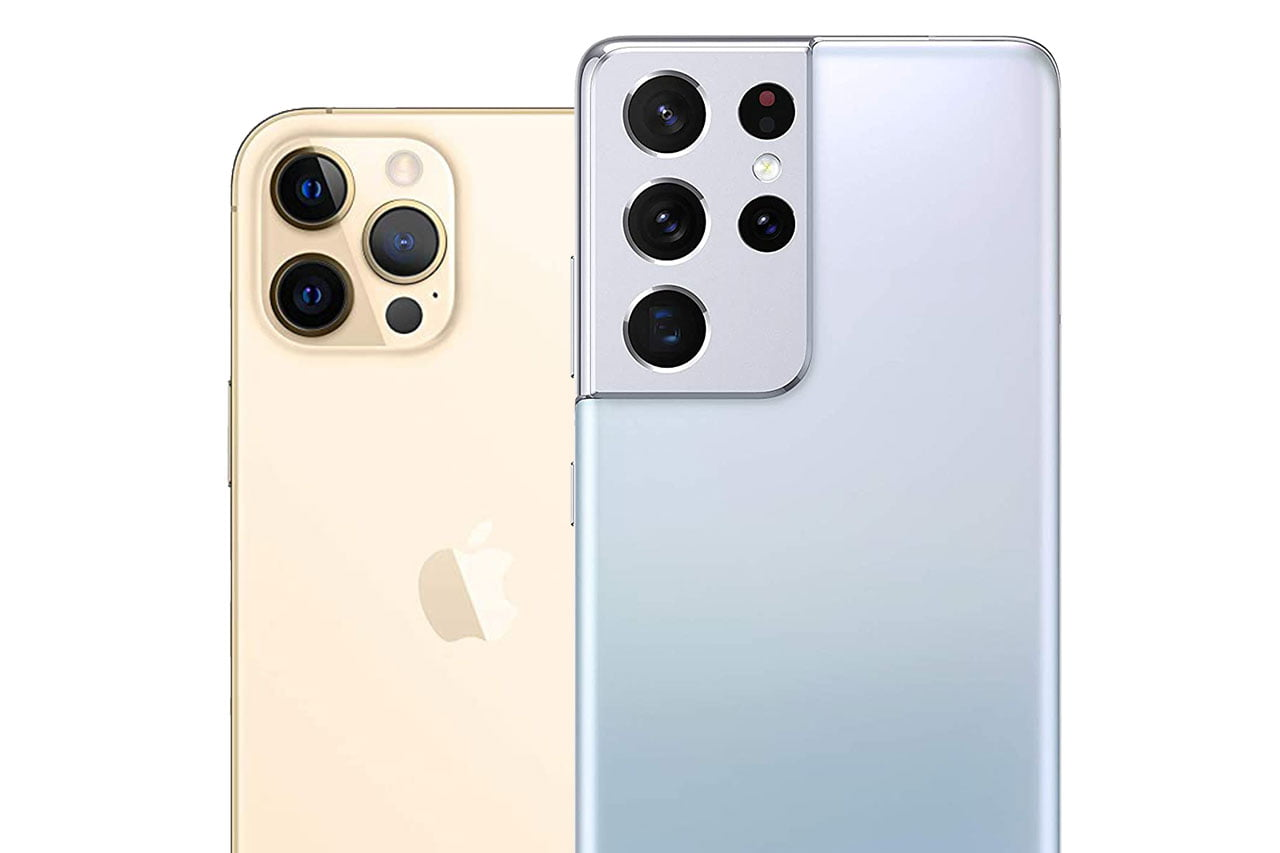 Samsung S21 Ultra vs iPhone 12 Pro Max