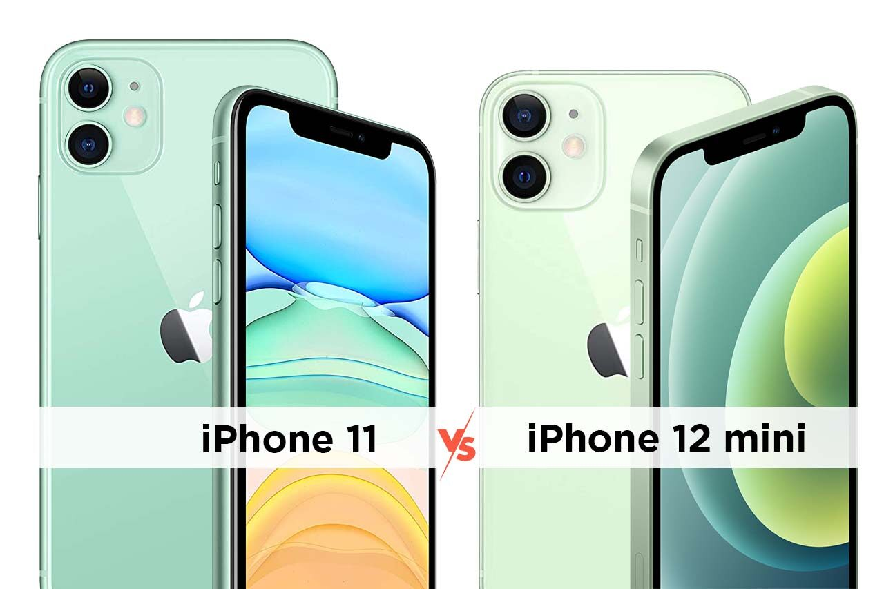 iPhone 11 vs iPhone 12 mini