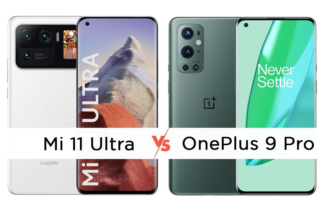 Mi 11 Ultra vs OnePlus 9 Pro