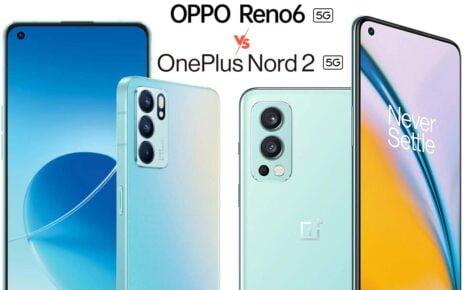 Oppo Reno6 vs OnePlus Nord 2