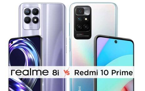 Realme 8i vs Redmi 10 Prime